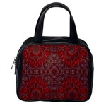 Red Mystic Classic Handbag (Two Sides) from ArtsNow.com Back