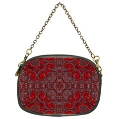 Red Mystic Chain Purse (One Side) from ArtsNow.com Front