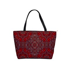 Red Mystic Classic Shoulder Handbag from ArtsNow.com Front