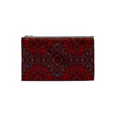 Red Mystic Cosmetic Bag (Small) from ArtsNow.com Front