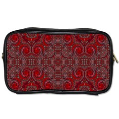 Red Mystic Toiletries Bag (Two Sides) from ArtsNow.com Front