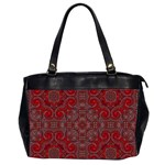 Red Mystic Oversize Office Handbag (Two Sides) from ArtsNow.com Front