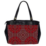 Red Mystic Oversize Office Handbag (Two Sides) from ArtsNow.com Back