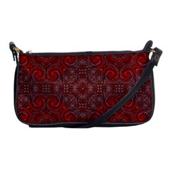 Red Mystic Shoulder Clutch Bag from ArtsNow.com Front