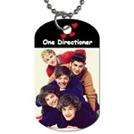 One Direction One Direction 31160676 1600 900 Dog Tag (One Side)